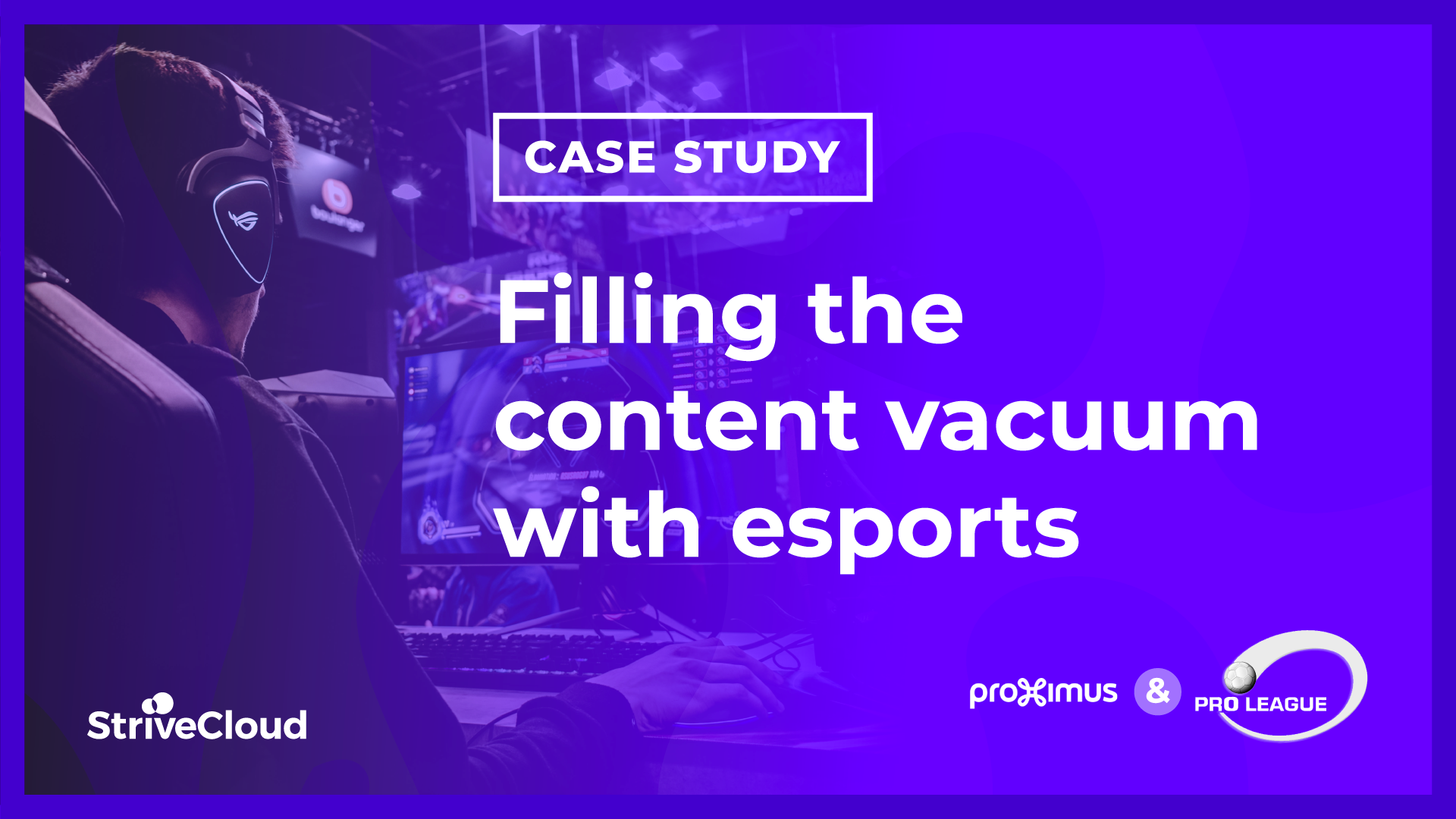 Case study: Filling the content vacuum with esports