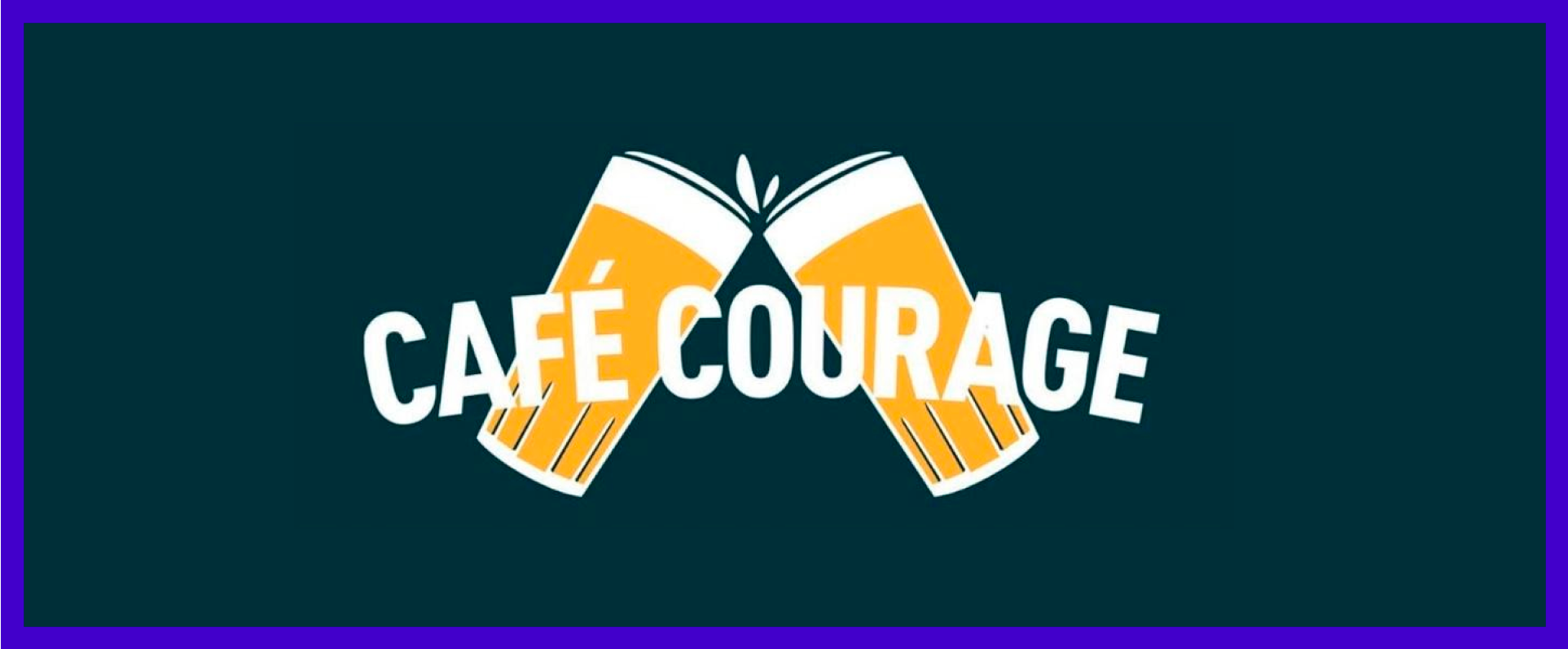 Café Courage is an initiative by AB InBev to support bars during lockdown