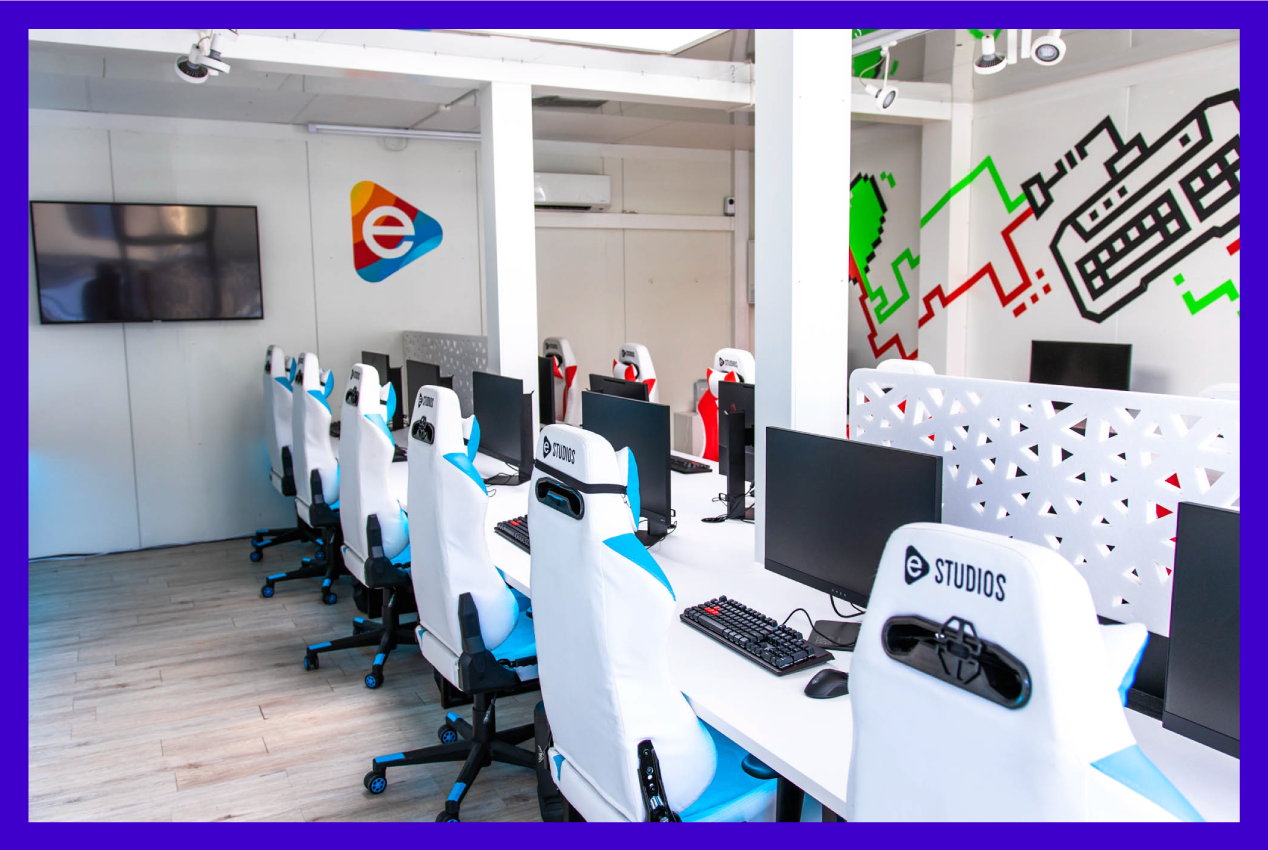 eStudios offers a place where young gamers can train to become professional esporters