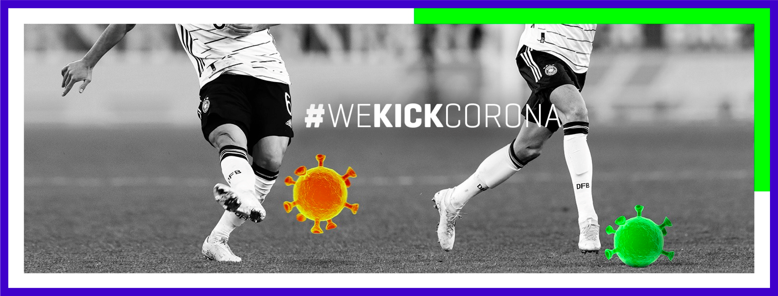 Bayern München's #WeKickCorona campaign founded by Joshua Kimmich and Leon Goretzka has already raised over 5 million euros for charity purposes