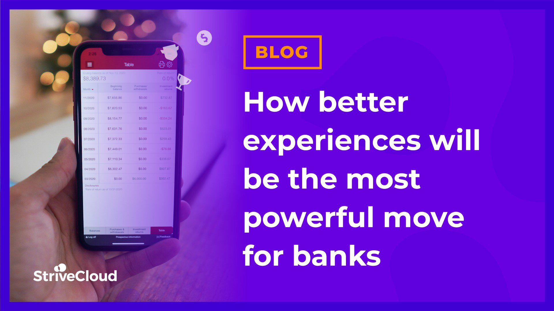 How better experiences will be the most powerful move for banks
