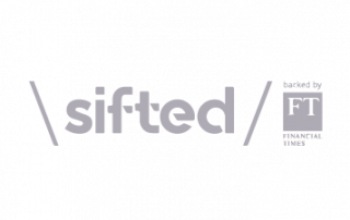Sifted logo, backed by financial times