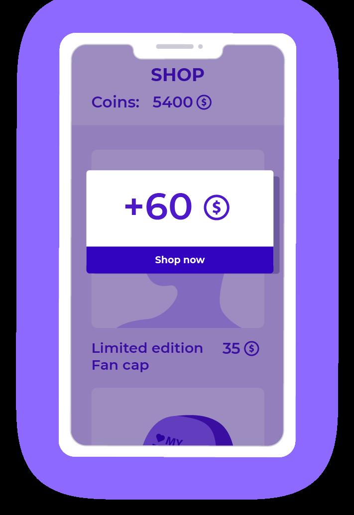 Shop & Reward example