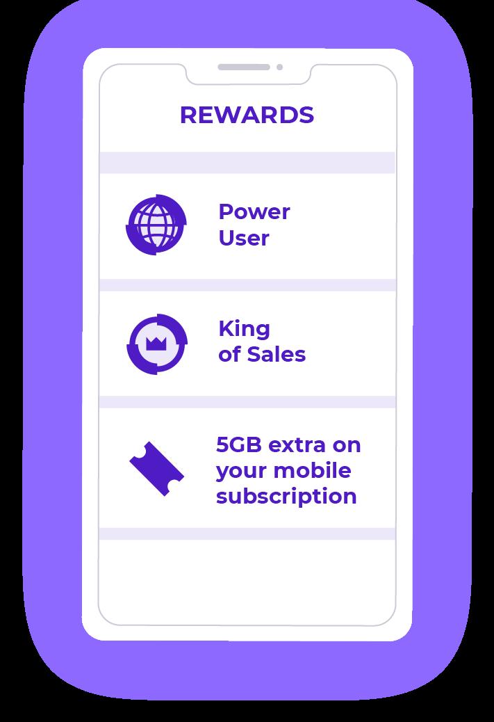 Rewards examples