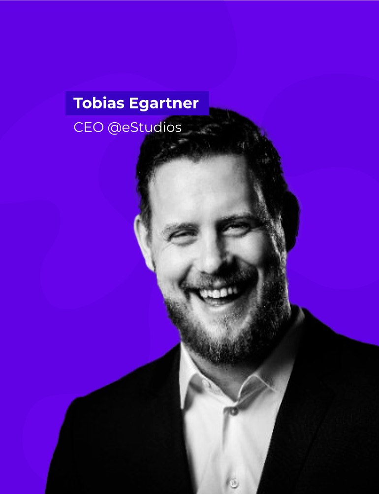 Tobias Egartner - CEO of estudios