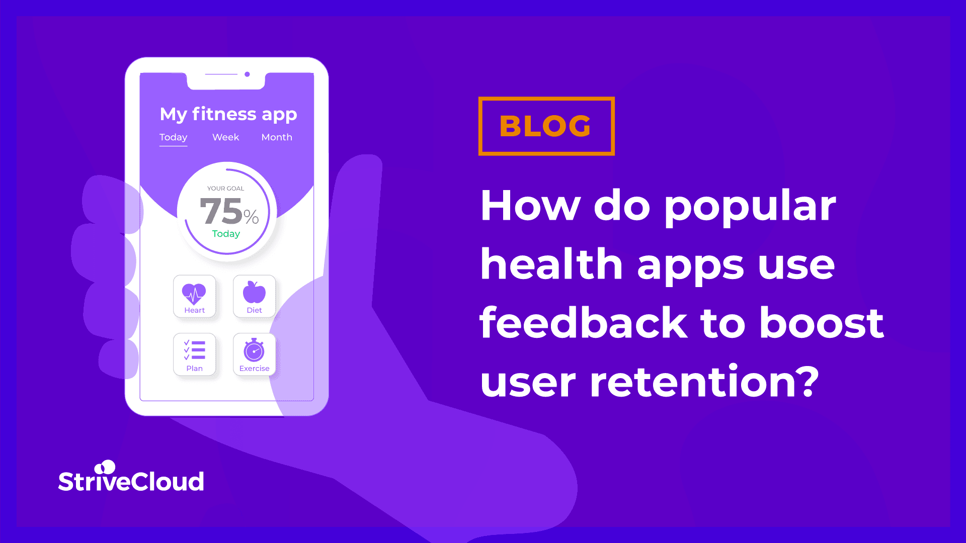 How do popular health apps use feedback to boost user retention?