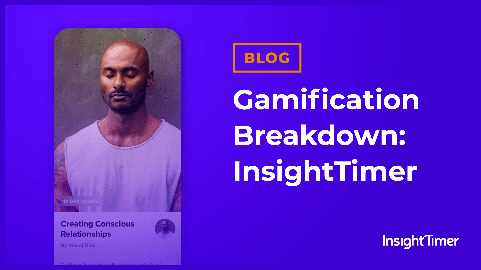 How Insight Timer has the best user retention in wellness apps with gamification